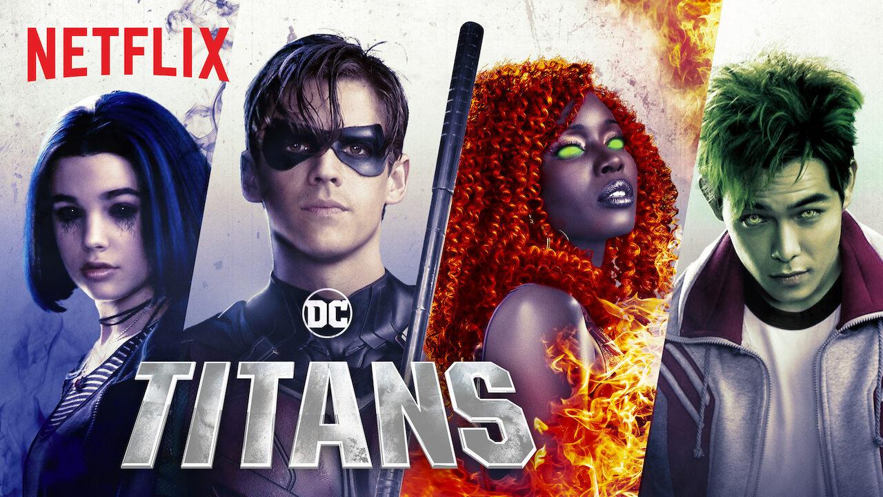 Titans on Netflix AUS/NZ