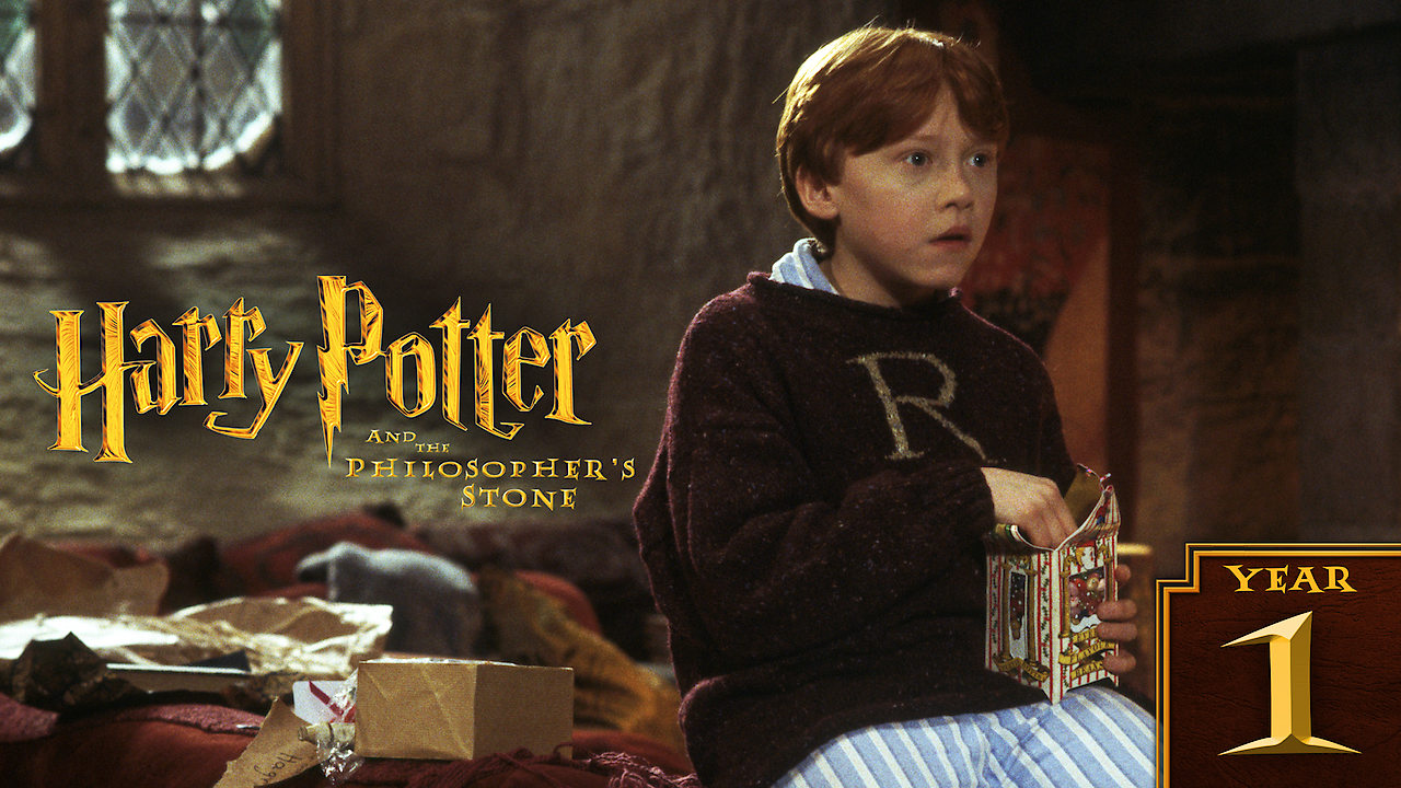 Harry Potter and the Sorcerer's Stone on Netflix AUS/NZ