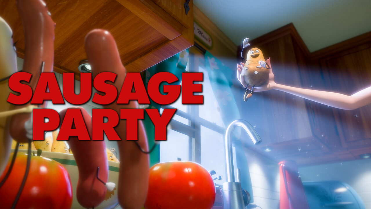 Sausage Party on Netflix AUS/NZ