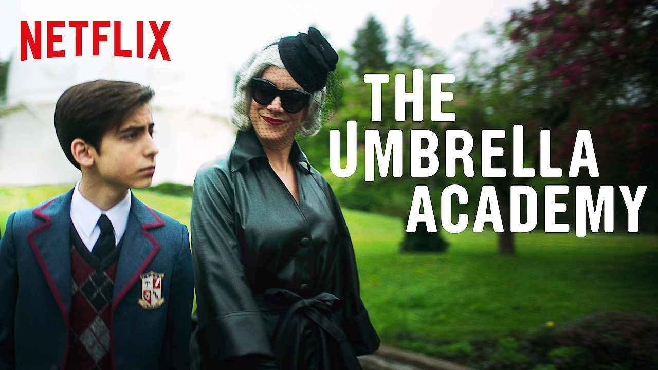 The Umbrella Academy on Netflix AUS/NZ