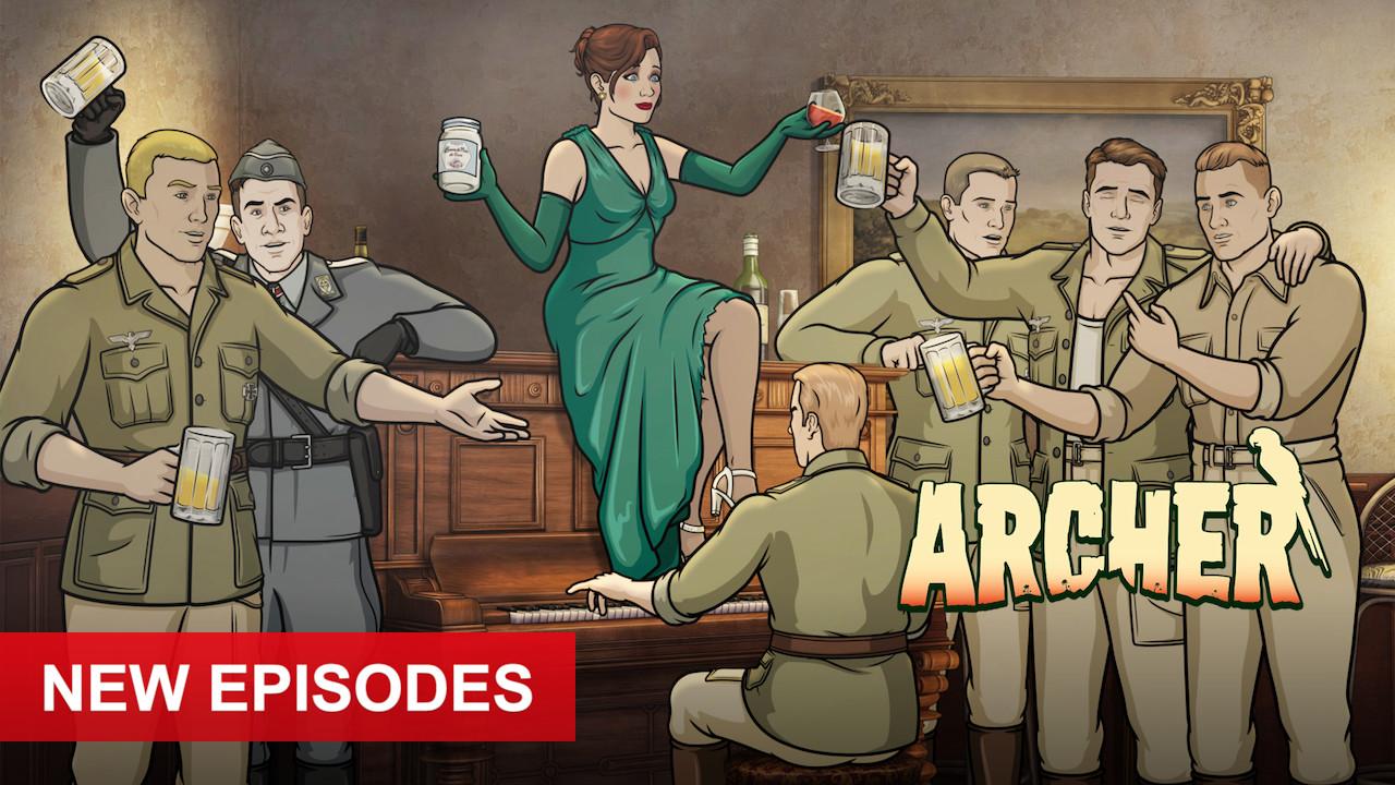 Archer on Netflix AUS/NZ