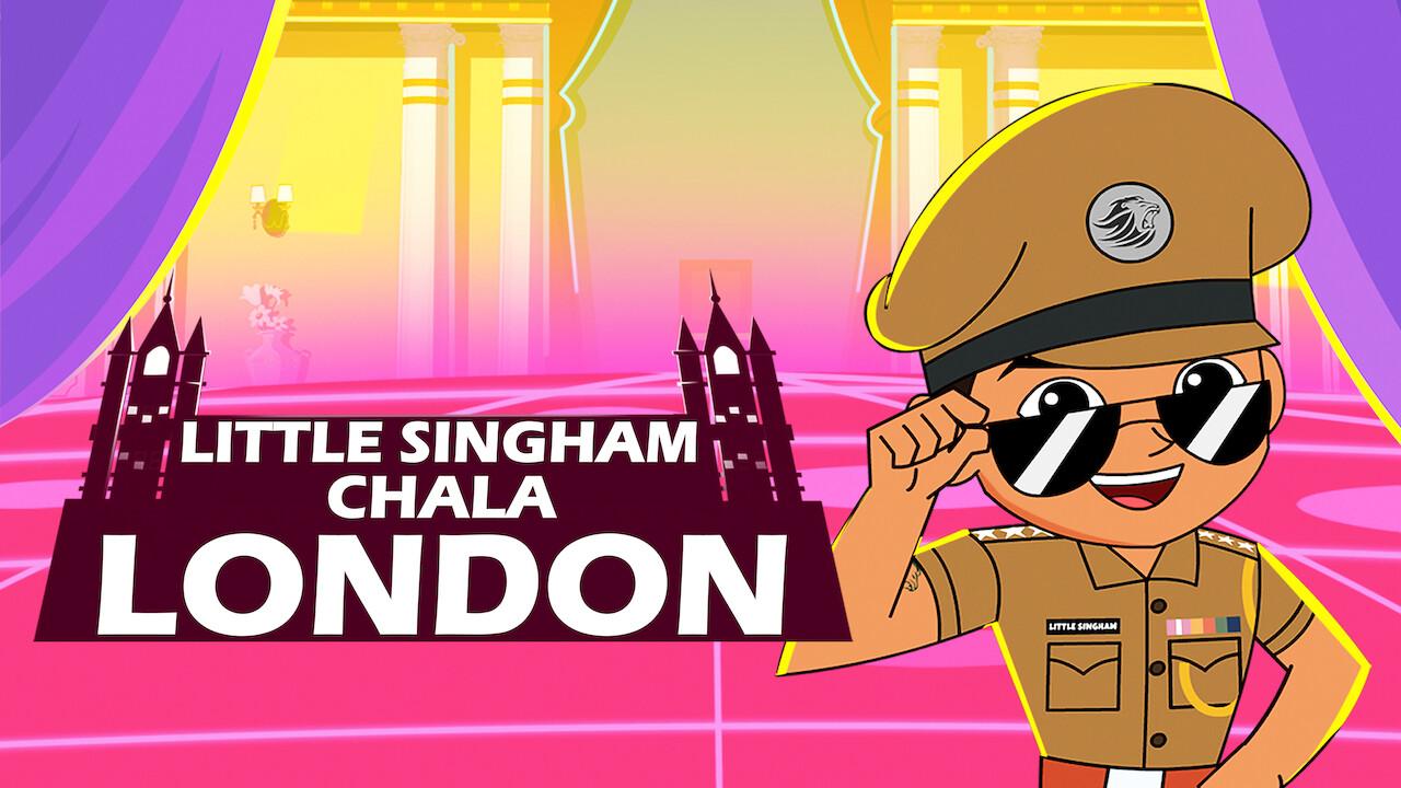 Little Singham in London on Netflix AUS/NZ