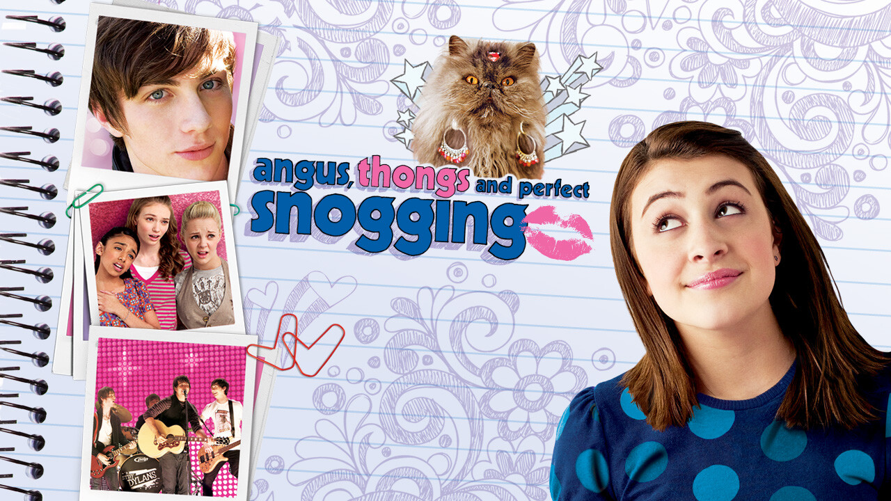Angus Thongs And Perfect Snogging Cast is 'angus, thongs and perfect snogging' available to watch