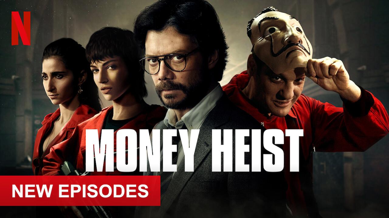 Money Heist on Netflix AUS/NZ