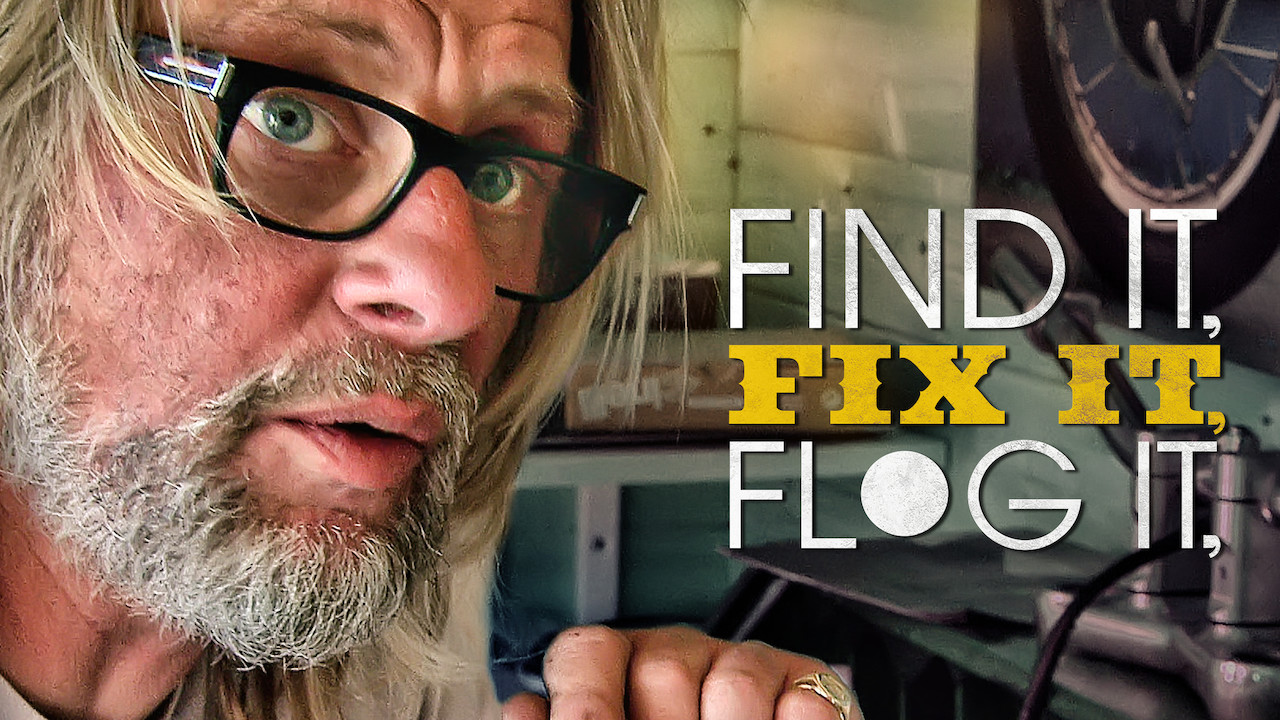 Is 'Find It, Fix It, Flog It' available to watch on Netflix