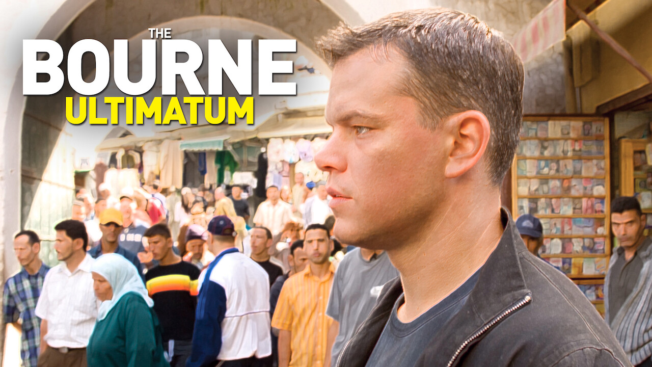 The Bourne Ultimatum on Netflix AUS/NZ