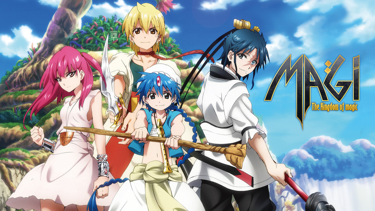 Is Magi The Labyrinth Of Magic On Netflix In Australia Where To Watch The Series New On Netflix Australia New Zealand