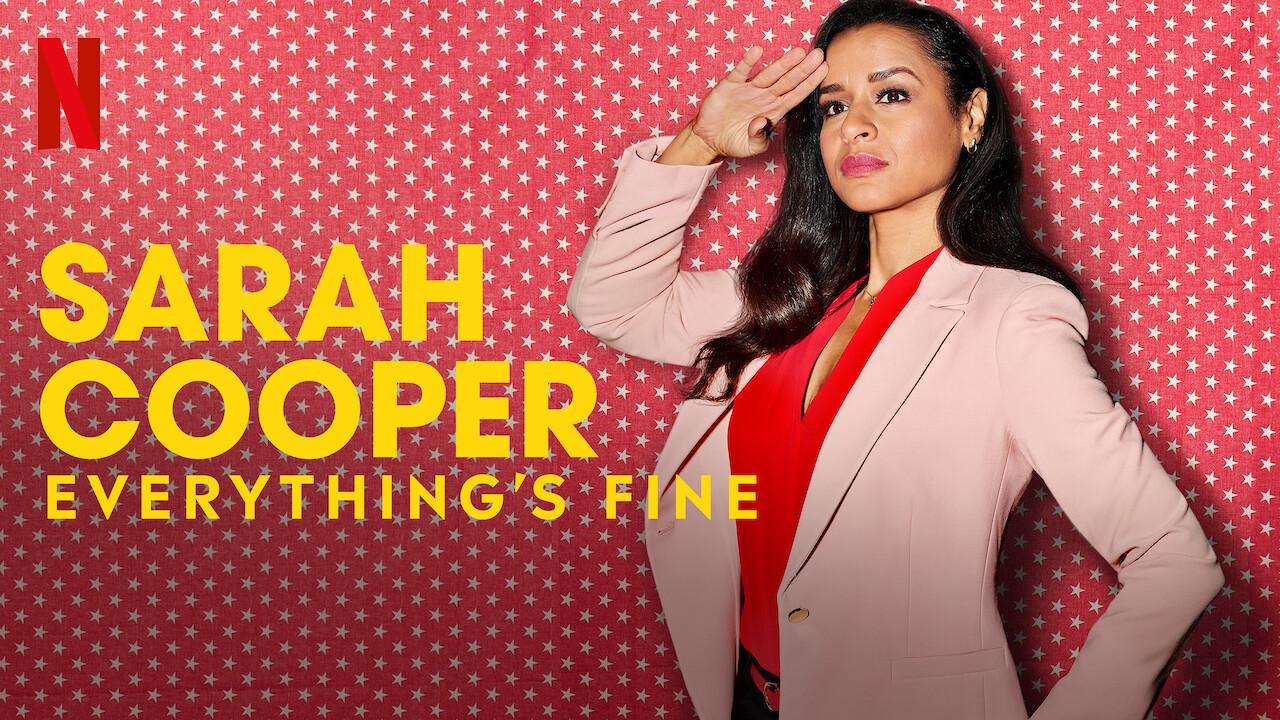Sarah Cooper: Everything's Fine on Netflix AUS/NZ