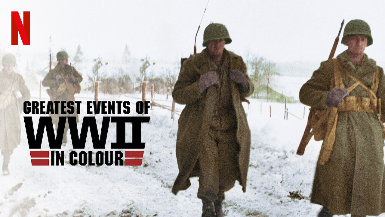 Is 'Greatest Events of WWII in Colour' available to watch on ...