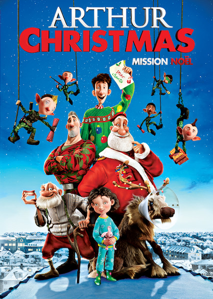 Arthur Christmas on Netflix