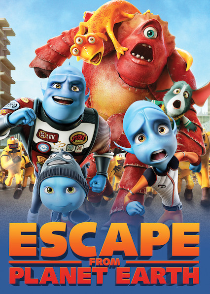 Escape from Planet Earth on Netflix AUS/NZ