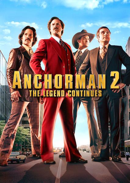 Anchorman 2: The Legend Continues on Netflix AUS/NZ