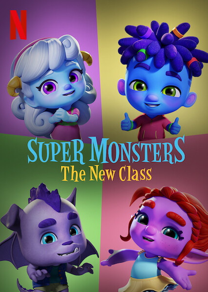 Super Monsters: The New Class on Netflix AUS/NZ