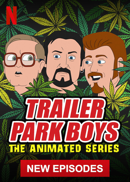 Trailer Park Boys: The Animated Series on Netflix AUS/NZ