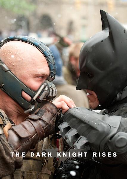 The Dark Knight Rises on Netflix AUS/NZ