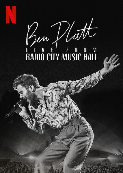 Ben Platt Live from Radio City Music Hall on Netflix AUS/NZ