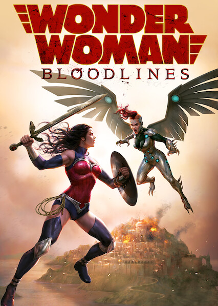 Wonder Woman: Bloodlines on Netflix AUS/NZ