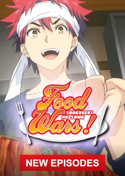 Food Wars!: Shokugeki no Soma on Netflix AUS/NZ