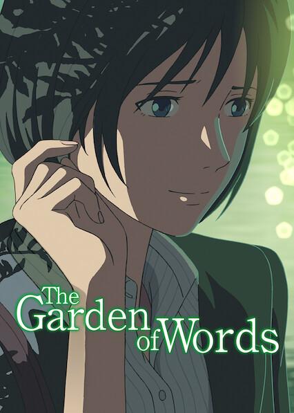 The Garden of Words on Netflix AUS/NZ