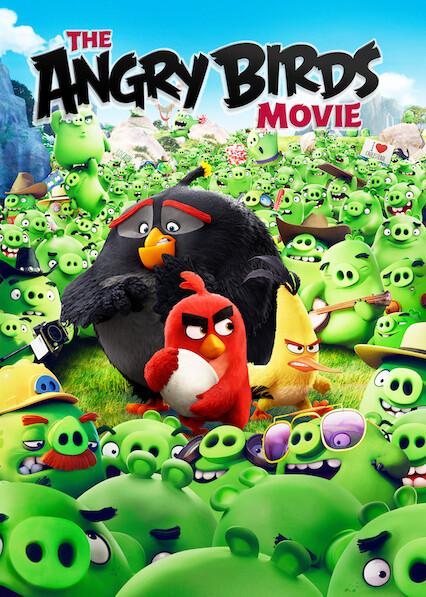 The Angry Birds Movie on Netflix AUS/NZ